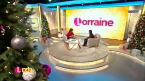 Zoe on Lorraine